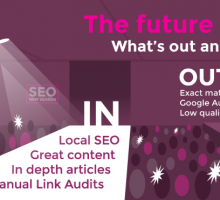 The Future of SEO: What' s out and what's in?