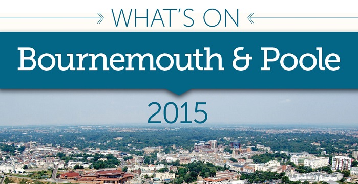 Discover What's On in Bournemouth and Poole with our Official 2015 Events Calendar
